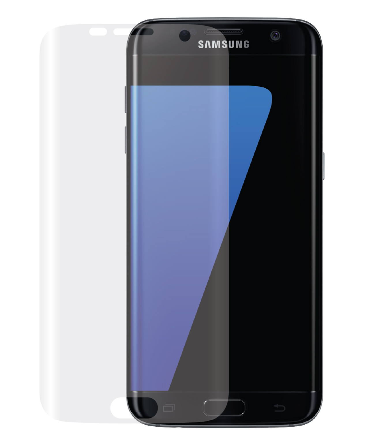 Curved Display of the Samsung Galaxy S7 Edge