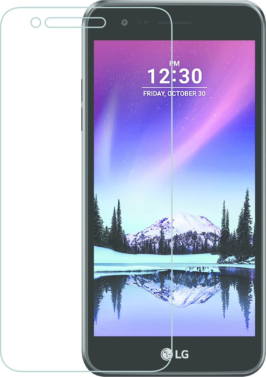 Azuri screen protector Tempered Glass - for LG K4 2017