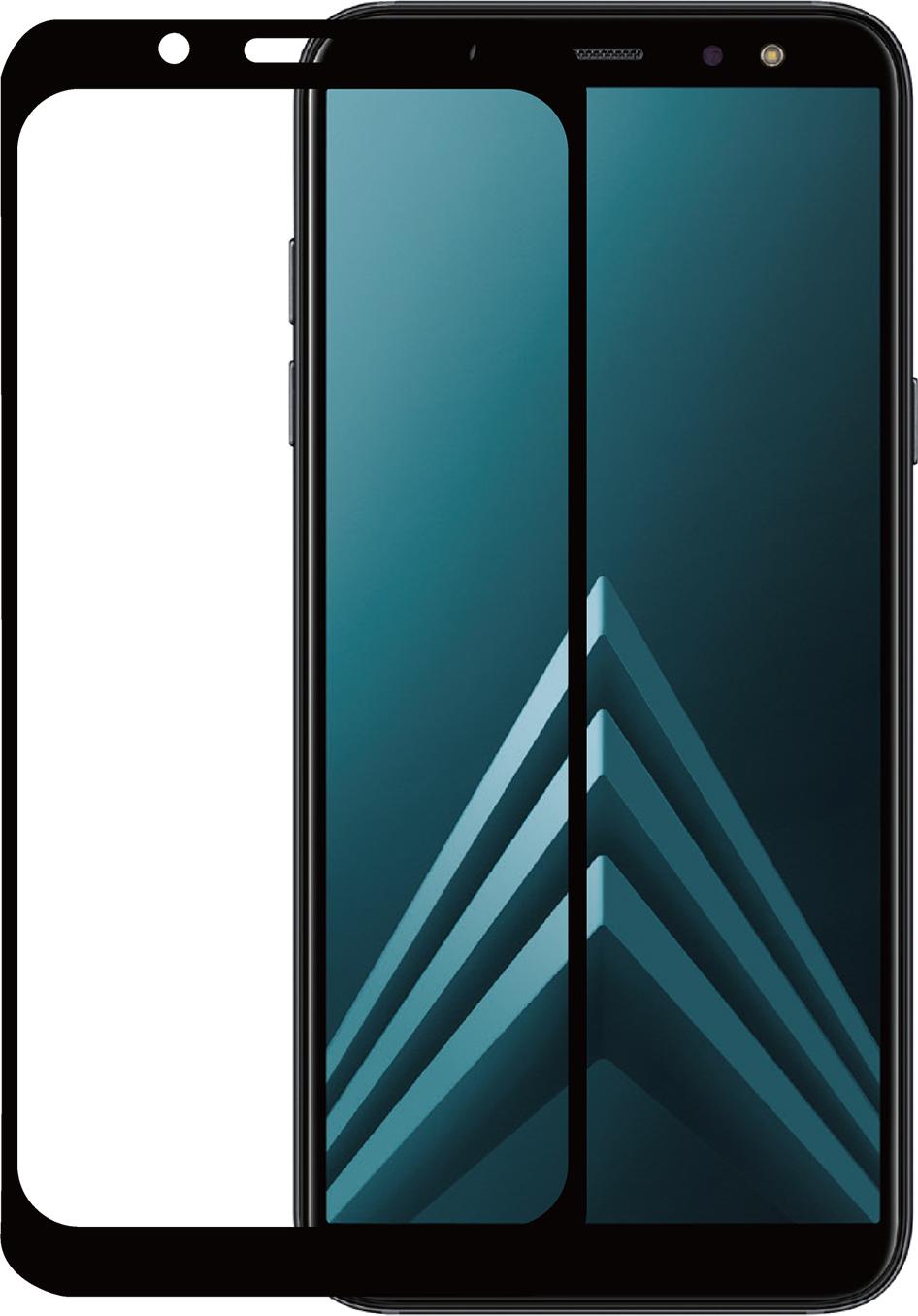 Azuri 2x Tempered Glass flat RINOX ARMOR - black frame
