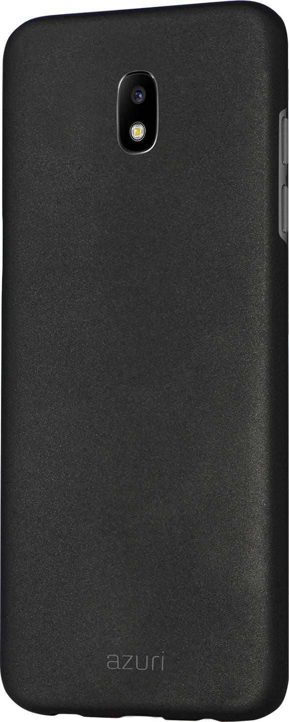 huge selection of f48b2 29c99 Azuri metallic cover with soft touch coating - black - Samsung ...
