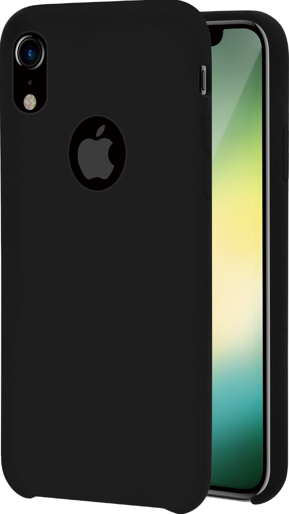 sports shoes 985bd e26d7 Azuri rubber cover - black - for iPhone Xr | Azuri Mobile